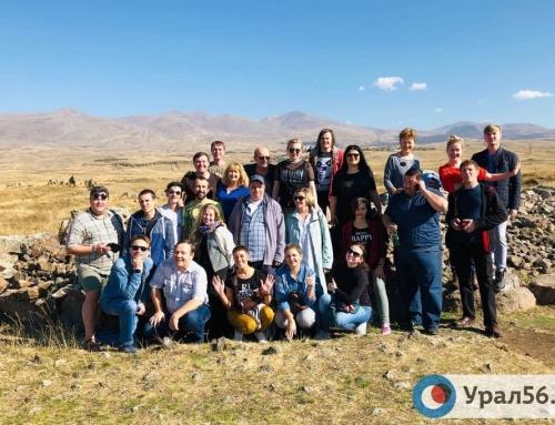 Орский драматический театр гастролирует в Армении